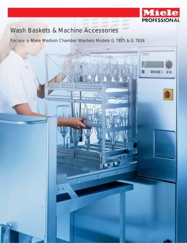 Wash Baskets Machine Accessories G 7825, G 7826