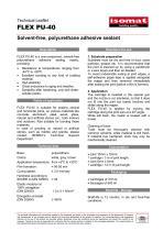 Technical Datasheet FLEX PU-40