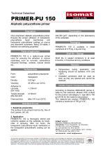Technical Datasheet PRIMER-PU 150