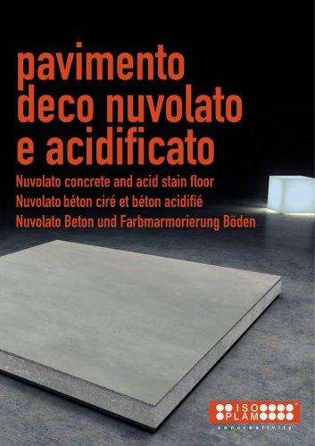 Nuvolato and Acid stain floors