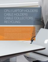 CPU / LAPTOP HOLDERS CABLE HOLDERS CABLE COLLECTORS RECYCLING
