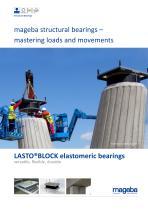 LASTO®BLOCK elastomeric bearings