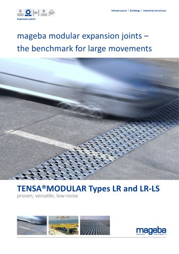 mageba modular expansion joints – the benchmark for large movements