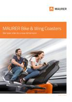 MAURER Bike & Wing Coasters - We take rides to a new dimension