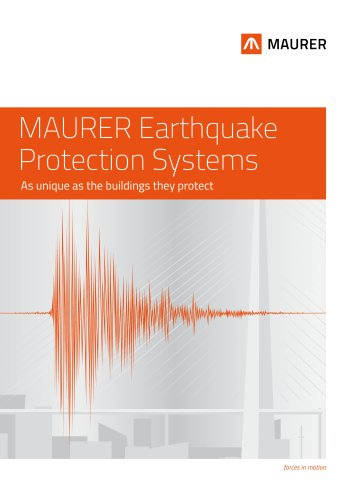 MAURER Earthquake Protection Systems
