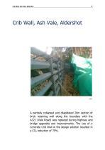 Crib Wall, Ash Vale, Aldershot