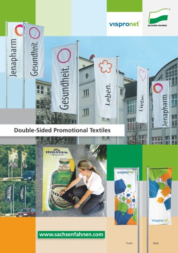 Double-Sided Promotional Textiles