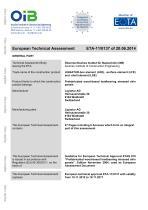 European Technical Assessment