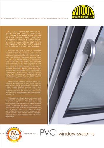PVC window systems