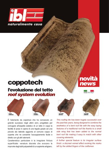 Coppotech - roof system evolution