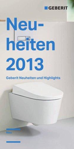 Neuheiten 2013