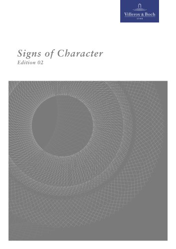 Factbook - V&B Signs of character