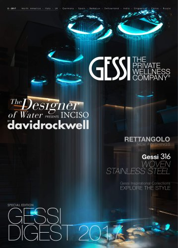 The Designer of Water PRESENTS INCISO BY davidrockwell