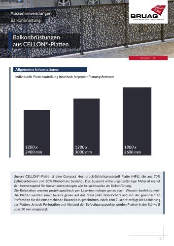 1_3 Aussenanwendungen Balkonbrüstung technisches Merkblatt