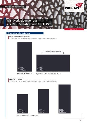 2_2 Innenanwendungen Wandverkleidung technisches Merkblatt
