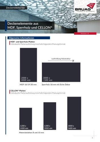 2_4 Innenanwendungen Deckenelemente Technisches Merkblatt
