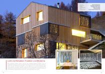 Broschüre Aussenbereichsanwendungen (Hinterlüftete Fassaden, Perforierte Fassaden, Balkonbrüstungen, Balkonakustik, Gartenanwendungen) - 12