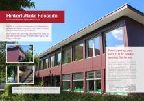 Broschüre Aussenbereichsanwendungen (Hinterlüftete Fassaden, Perforierte Fassaden, Balkonbrüstungen, Balkonakustik, Gartenanwendungen) - 5