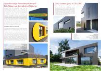Broschüre Aussenbereichsanwendungen (Hinterlüftete Fassaden, Perforierte Fassaden, Balkonbrüstungen, Balkonakustik, Gartenanwendungen) - 7