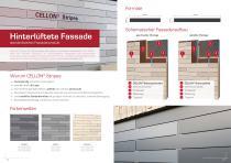 Broschüre Aussenbereichsanwendungen (Hinterlüftete Fassaden, Perforierte Fassaden, Balkonbrüstungen, Balkonakustik, Gartenanwendungen) - 8