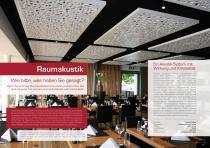 Broschüre Innenbereichsanwendungen (Perforierte Trennwände, Raumteiler, Treppengeländer, Raumakustiksysteme) - 11