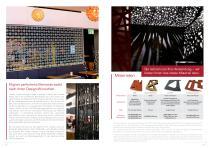 Broschüre Innenbereichsanwendungen (Perforierte Trennwände, Raumteiler, Treppengeländer, Raumakustiksysteme) - 4