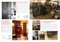 Broschüre Innenbereichsanwendungen (Perforierte Trennwände, Raumteiler, Treppengeländer, Raumakustiksysteme) - 6