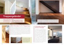 Broschüre Innenbereichsanwendungen (Perforierte Trennwände, Raumteiler, Treppengeländer, Raumakustiksysteme) - 9
