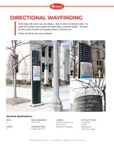DIRECTIONAL WAYFINDING
