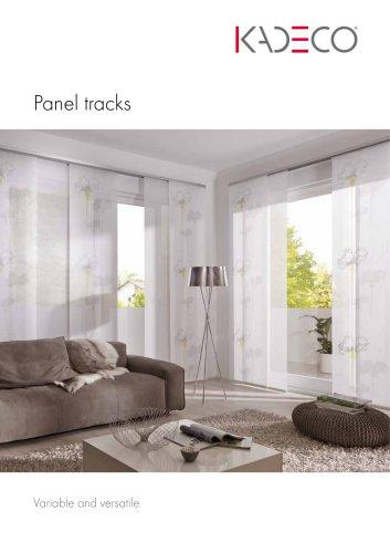 Panel tracks
