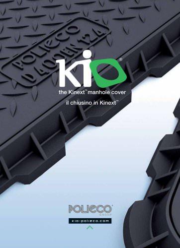 kio - the Kinext manhole cover