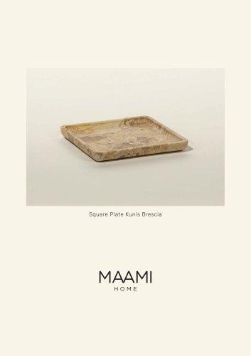 Square Plate Kunis Brescia factsheet