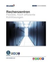 Data Centre Cooling Sales Brochure (German)