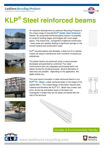 KLP® Steelreinforced plastic beams