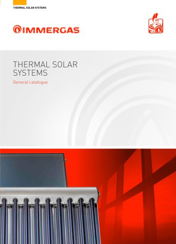 Thermal solar systems