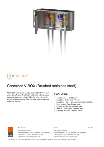 Container V­BOX