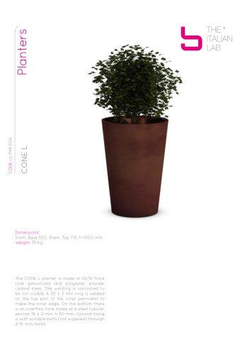 CONE L Planters