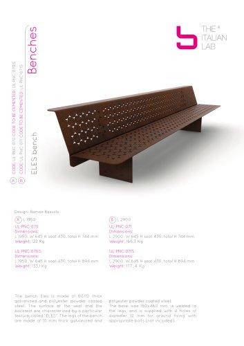 ELES bench Benches
