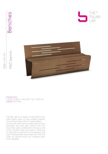 MAC bench Benches
