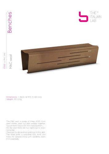 MAC seat Benches