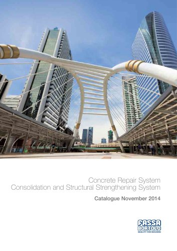Concrete Repair System Consolidation and Structural Strengthening System