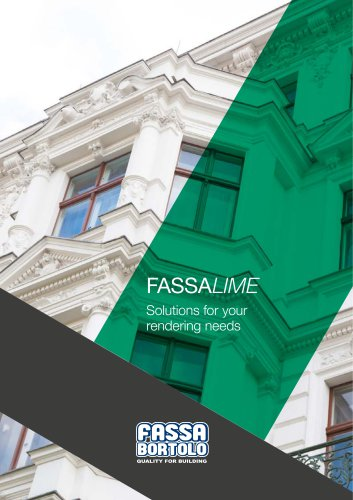 FASSALIME Solutions for your rendering needs