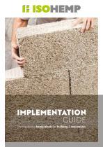 Installation instructions - Hempcrete blocks