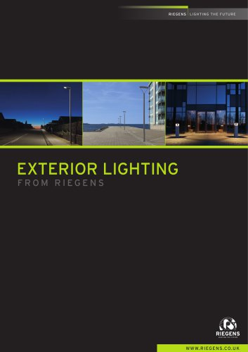 EXTERIOR LIGHTING FROM RIEGENS