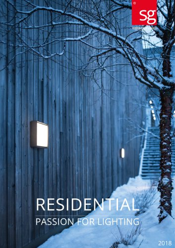 Resdential Passion for lighting