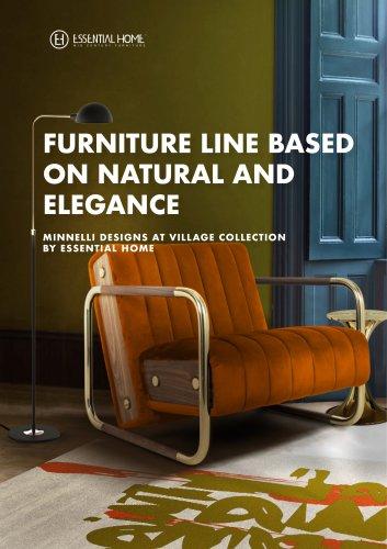 Furniture Line based on Natural and Elegance