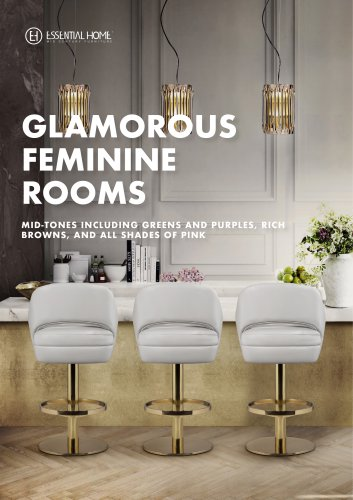 Glamorous Feminine Rooms