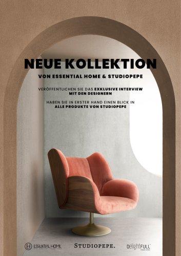 Neue Kollektion von Essential Home & Studiopepe