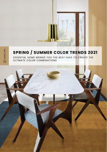 SPRING / SUMMER COLOR TRENDS 2021