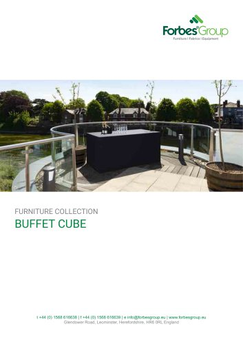 Buffet Cube – Folding Buffet Tables & Bars
